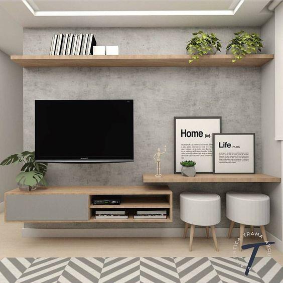 decoracao de sala de tv 1 1