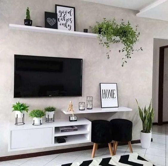 decoracao de sala de tv 11