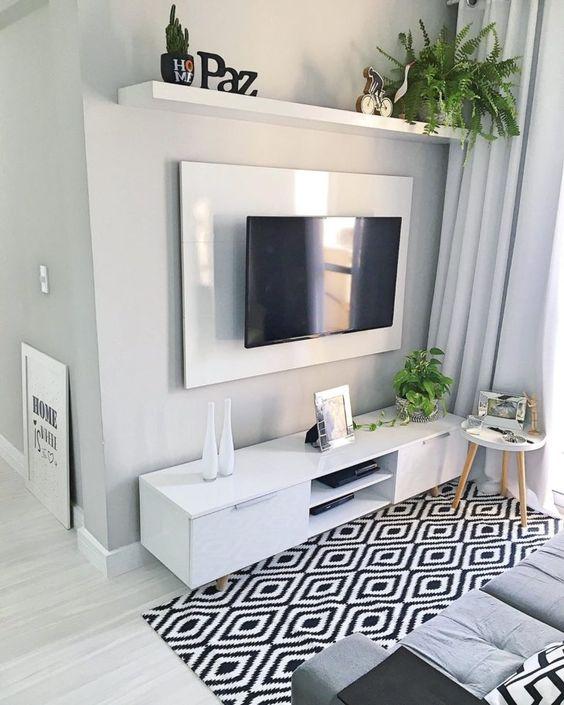 decoracao de sala de tv 5