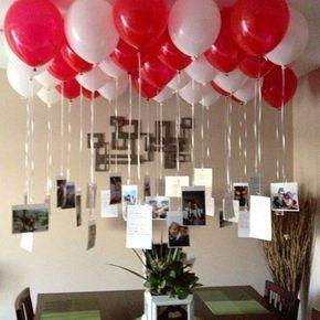 decoracao dia namorados baloes
