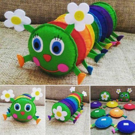 decoracao feltro quarto infantil brinquedo 1