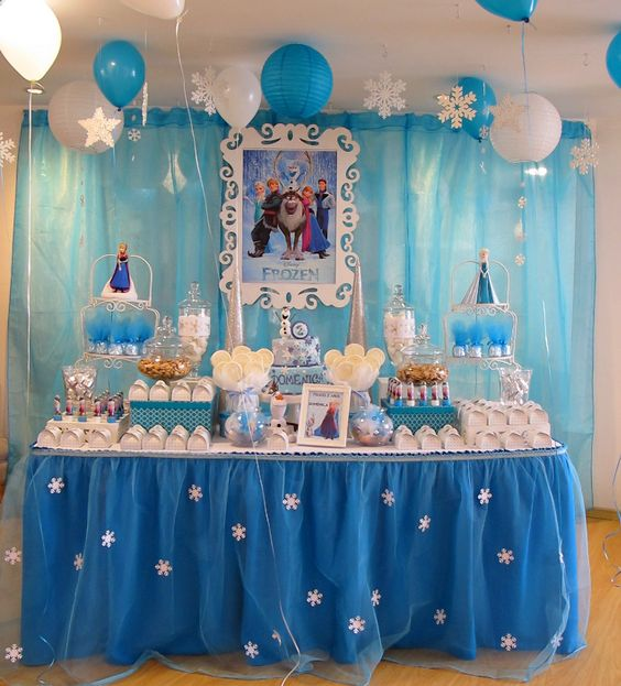 decoracao festa frozen 1