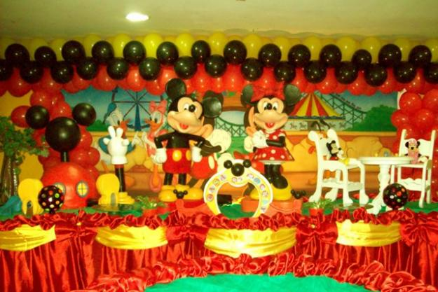 decoracao festa infantil mickey