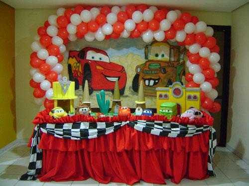 decoracao festa intantil carros