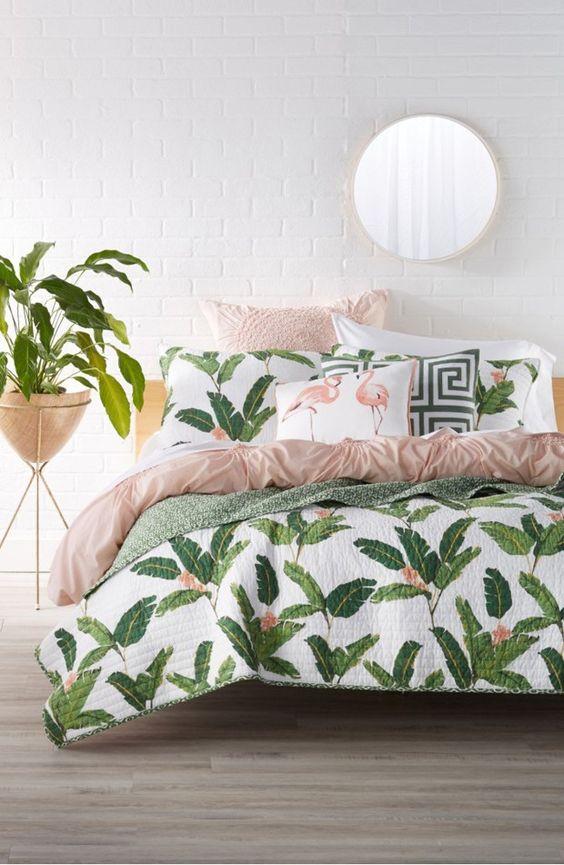 decoracao interior tropical quarto 2