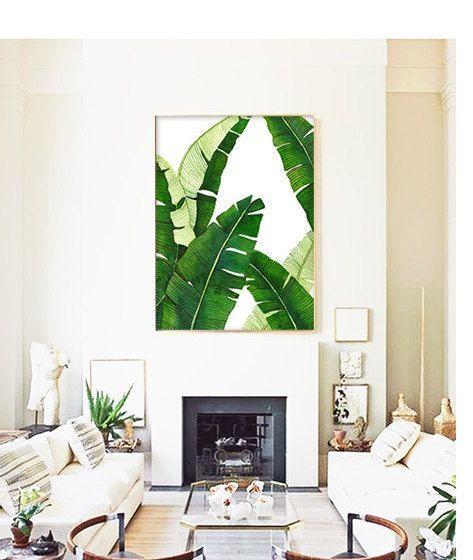decoracao interior tropical sala