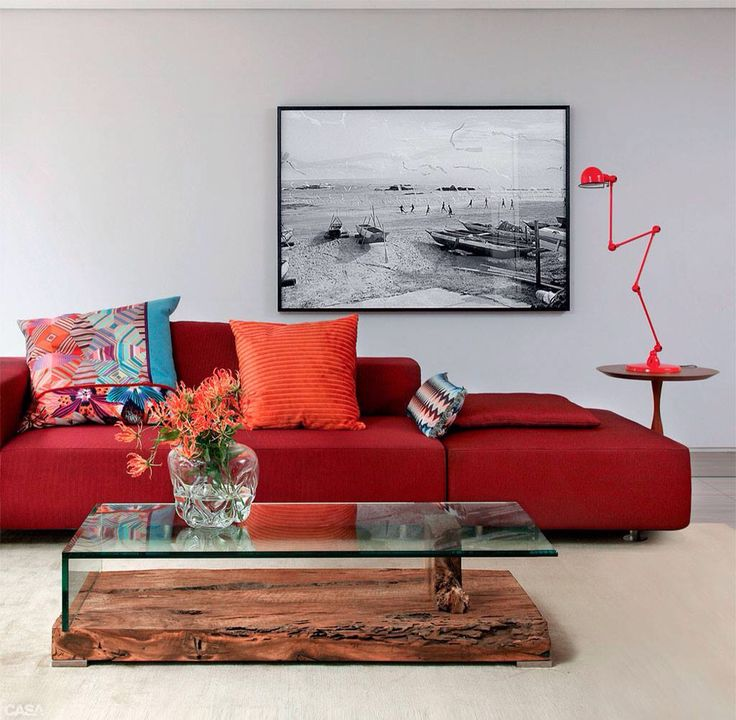 decoracao interior vermelho 16
