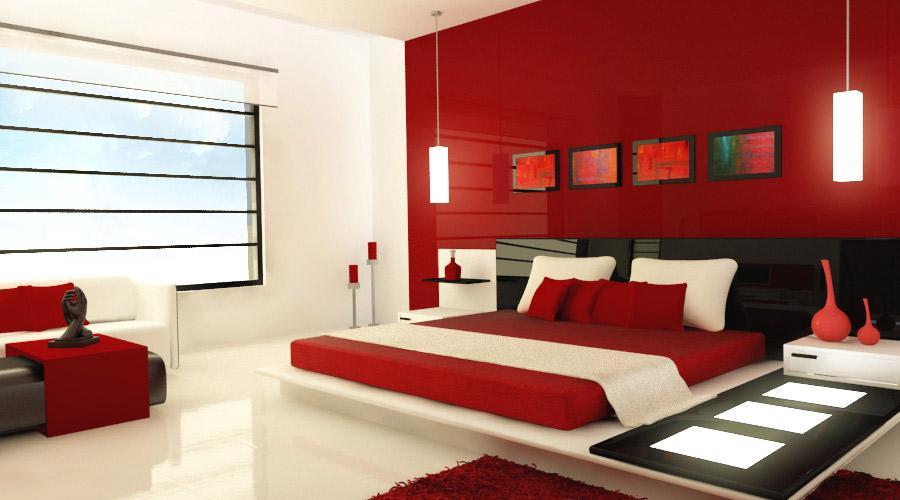 decoracao interior vermelho 5
