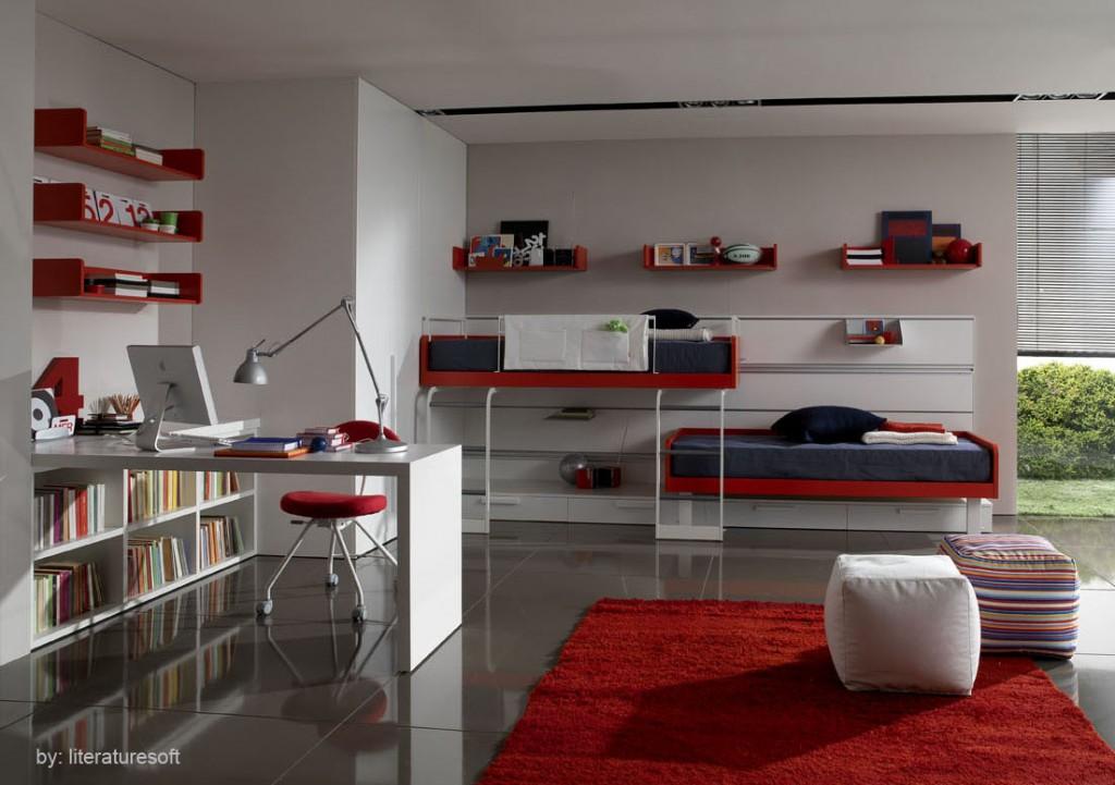 decoracao interior vermelho 7