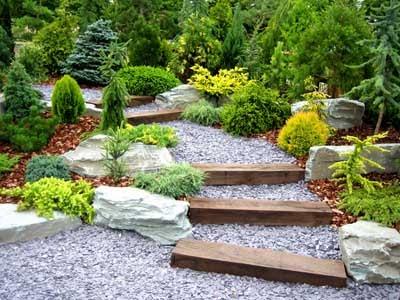 decoracao jardins tendencias