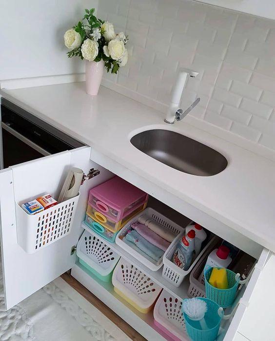 decoracao lavandaria organizacao