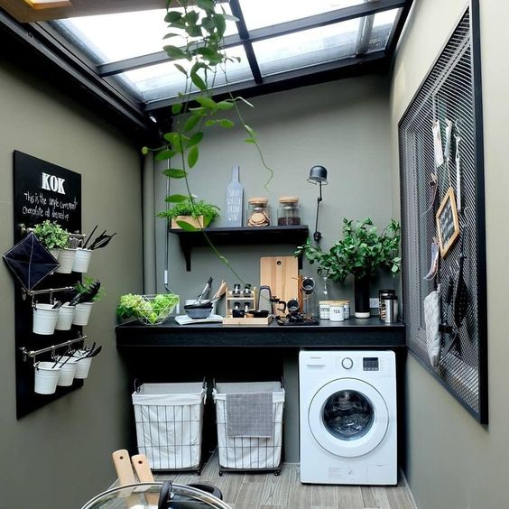 decoracao lavandaria pequenas