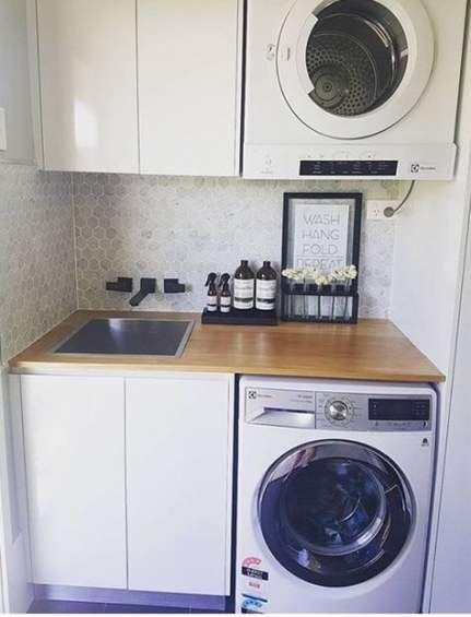 decoracao lavandaria planejada