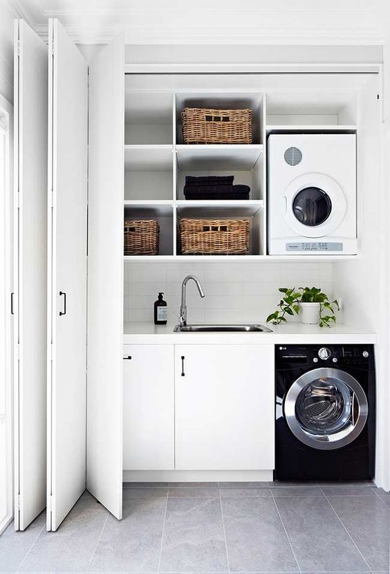 decoracao lavandaria simples
