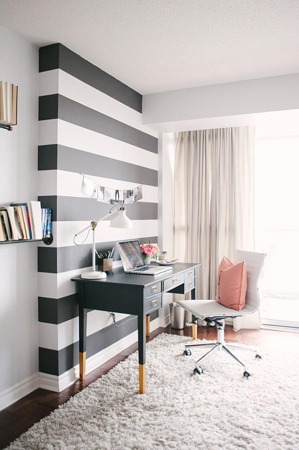 decoracao listras preto branco 1