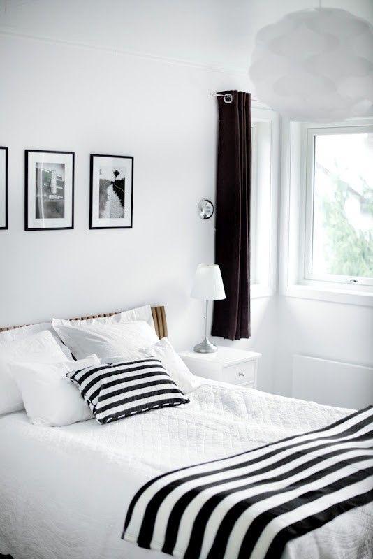 decoracao listras preto branco 5
