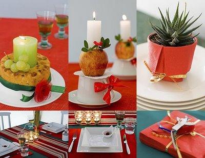 decoracao mesa de natal ideias