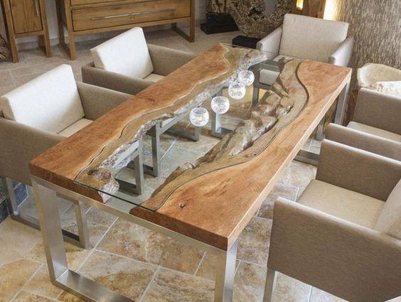 decoracao mesa madeira 9