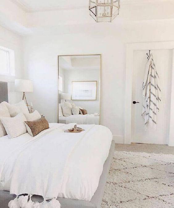 decoracao minimalista branco