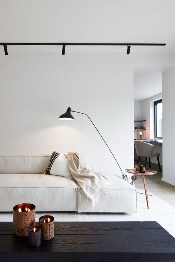 decoracao minimalista quarto