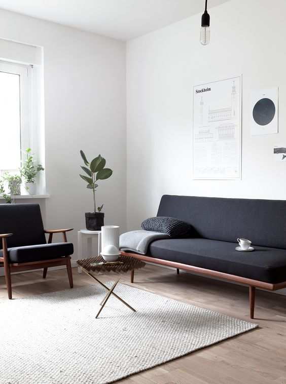 decoracao minimalista sala ideia
