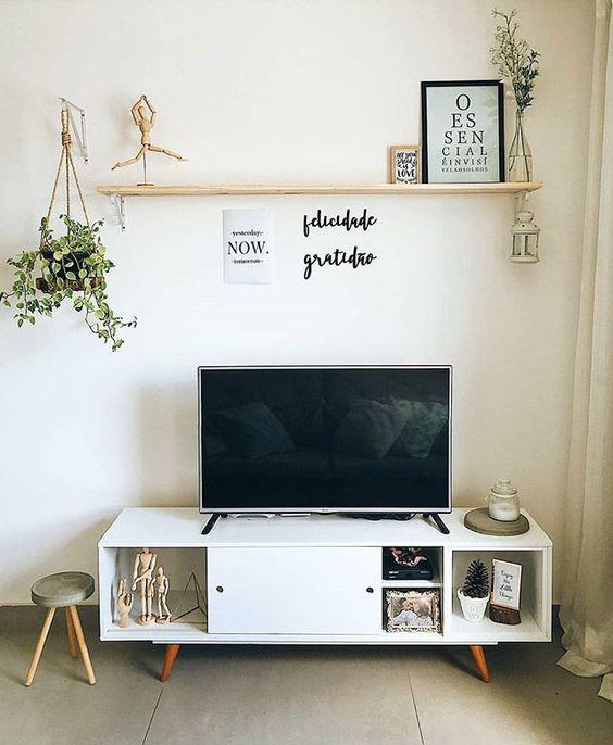decoracao minimalista sala simples