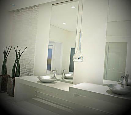 decoracao moderna para banheiro