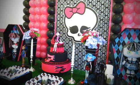 decoracao monster high festa