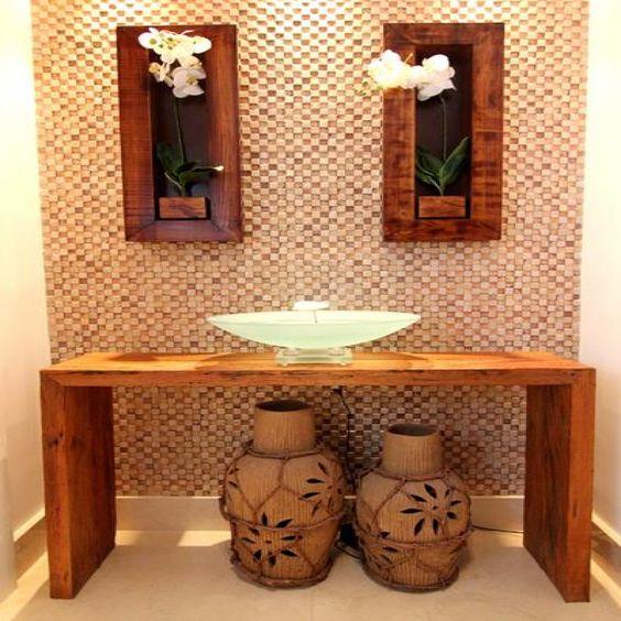 decoracao moveis madeira quarto aparador