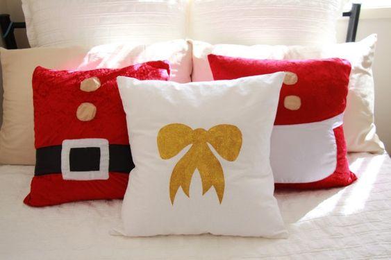 decoracao natal almofadas