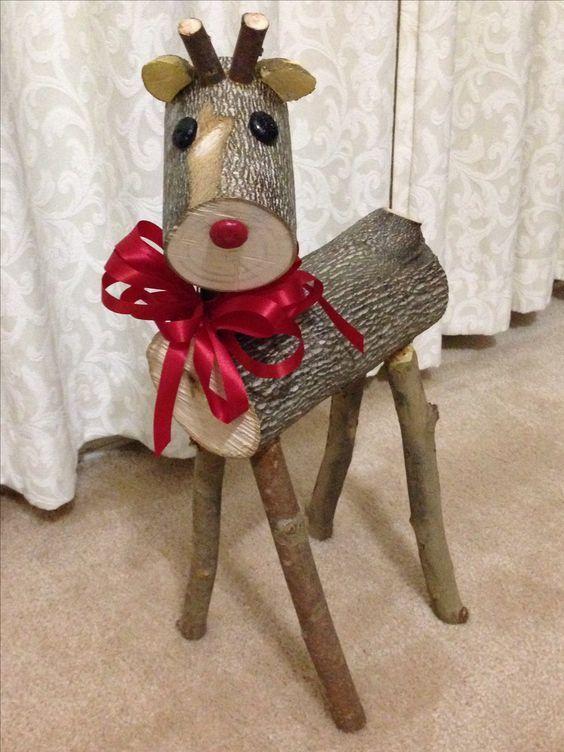 decoracao natal madeira 1