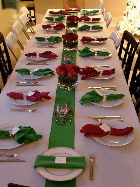 decoracao natal mesa
