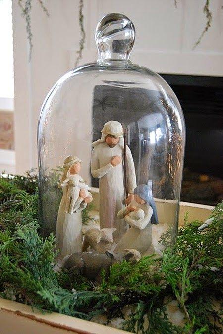 decoracao natal presepio