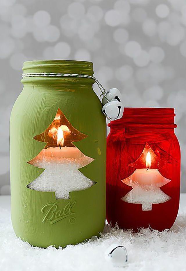 decoracao natal velas 1