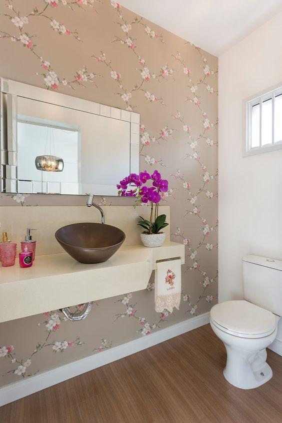 decoracao papel parede banheiro 2