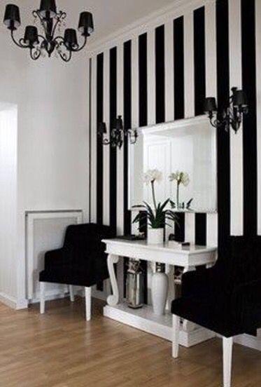 decoracao papel parede preto 2