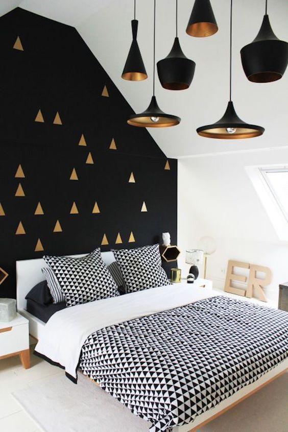 decoracao papel parede preto 5