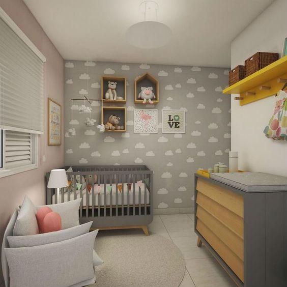 decoracao papel parede quarto crianca 2