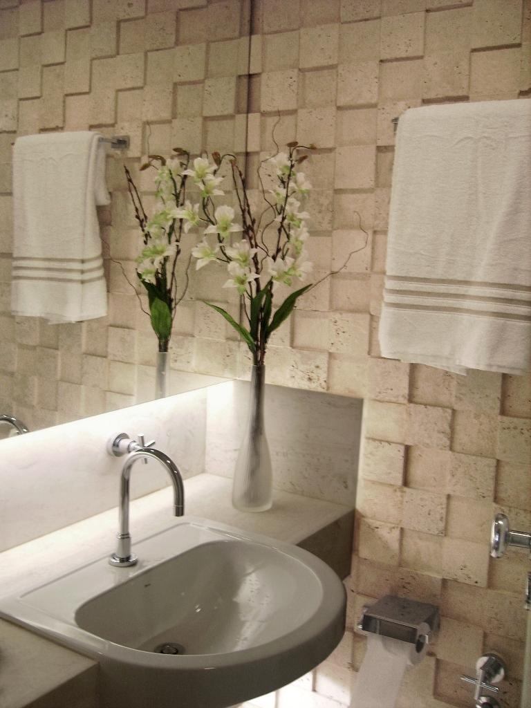 decoracao para lavabo