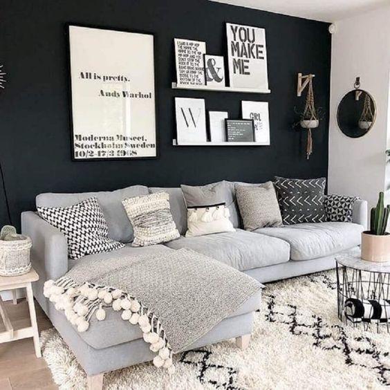 decoracao parede preta 5