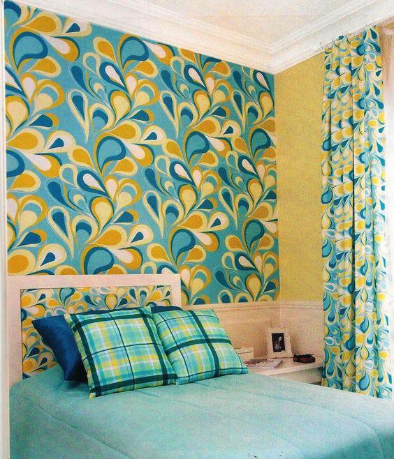 decoracao parede tecido 10