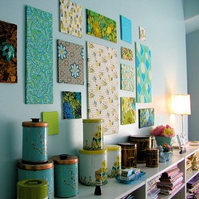 decoracao parede tecido 9
