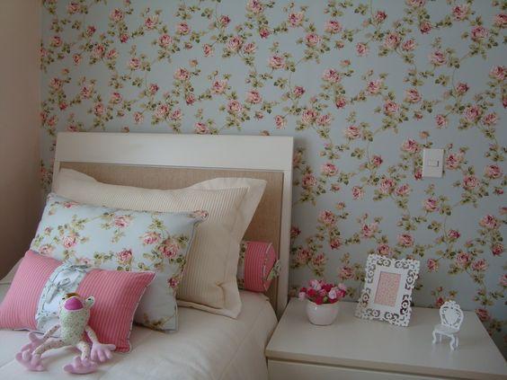 decoracao parede tecido