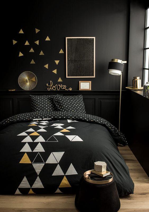 decoracao preto quarto 1