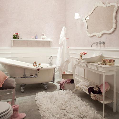 decoracao provencal banheiro