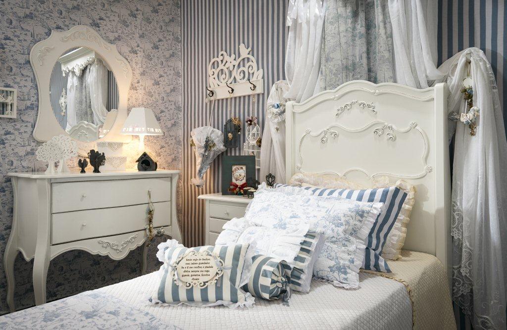 decoracao provencal quarto