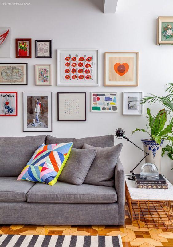 decoracao quadros coloridos 1