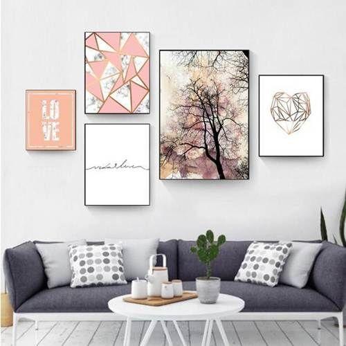 decoracao quadros composicao