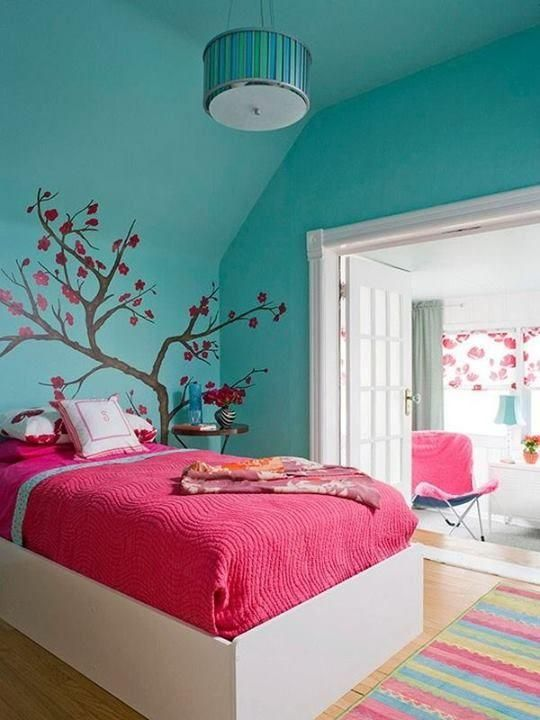 decoracao quarto adolescente adesivo