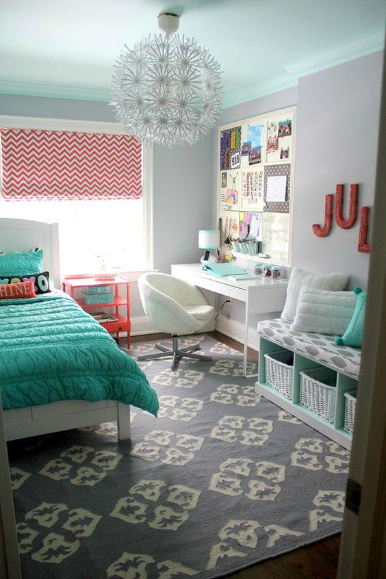 decoracao quarto adolescente feminino